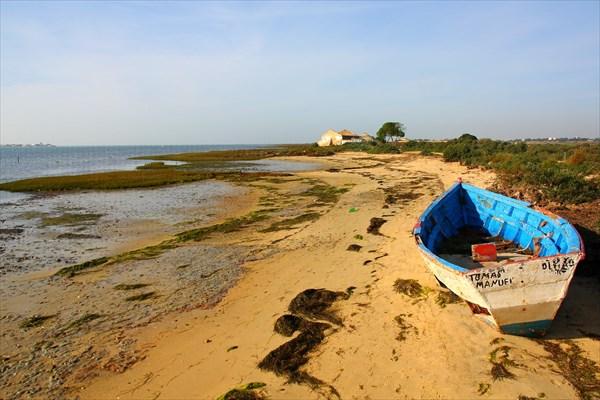 Брошенная рыбачья деревня