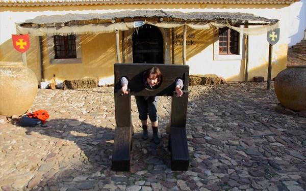 В крепости Кастро Марим