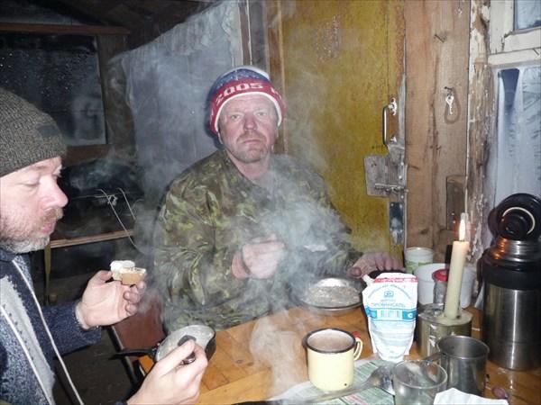 Домик рыбака. Завтрак