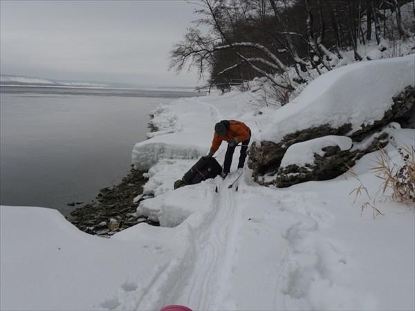 Наша лыжня на припае