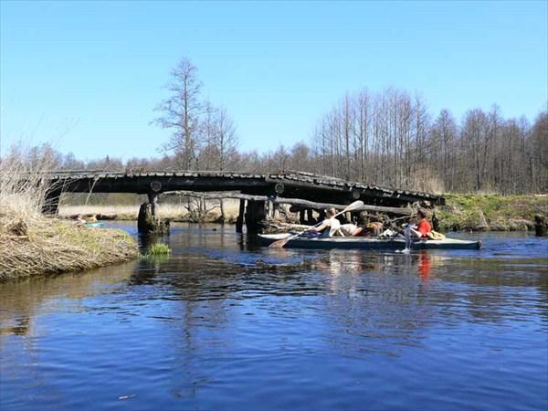 Река Судогда. Май 2009. Мост у деревни Овсянниково.