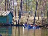 "Река Судогда. Май 2009. Лагерь ""Хрусталек""."