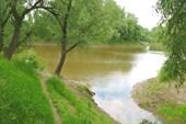 Речка в Березовке.
