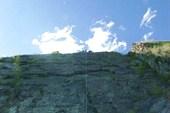 Высоко на скалах