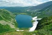 Озеро Хунузухулух с перевала.