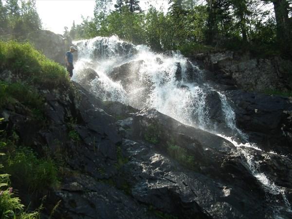 Водопады...