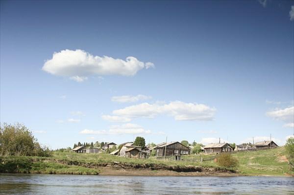 Деревня большая Сойва, место выброски в Троицко-Печорск
