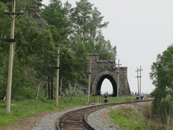 Вот такие тоннели.