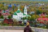 Тобольск. Вид со смотровой плащадки