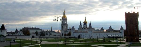 Красная площадь (Тобольский кремль, водонапорная башня)