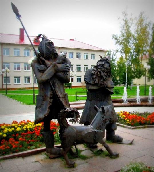 Памятник Робинзону Крузо