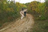 Спуск в Байдарскую долину