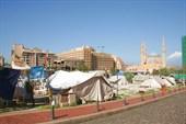 Палаточный городок оппозиции в центре Бейрута