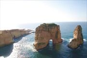 Достопримечательность Бейрута - Голубиные скалы