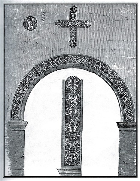 Ворота дома семьи Поло в Венеции