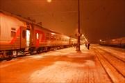 Поезд Минск - Москва