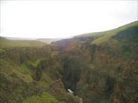 Высокий каньон в притоке реки Хибарба