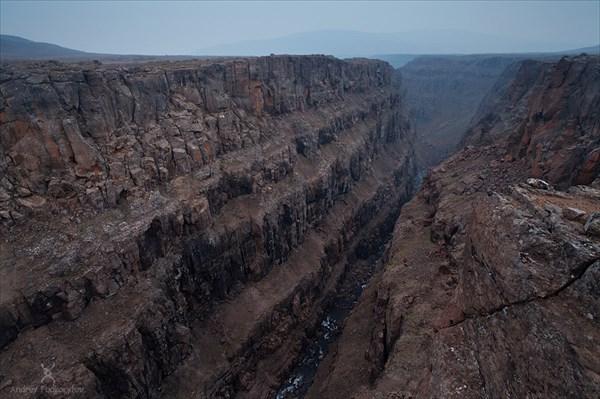 Каньон на реке Хикикаль