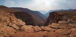 Отвесный край каньона