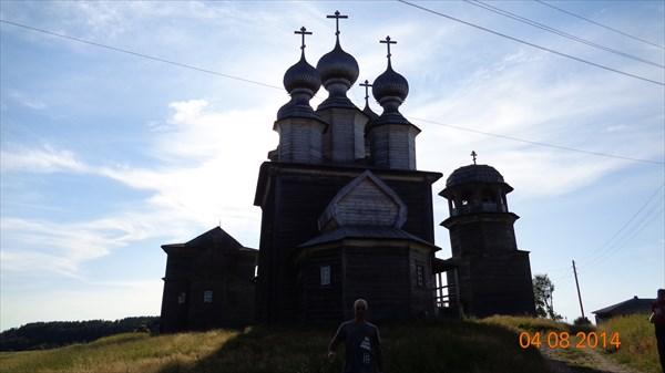 Ворзогоры. Восстановленная церковь
