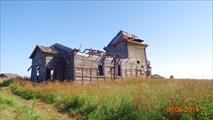 Бывший храм в бывшем селе Унежма