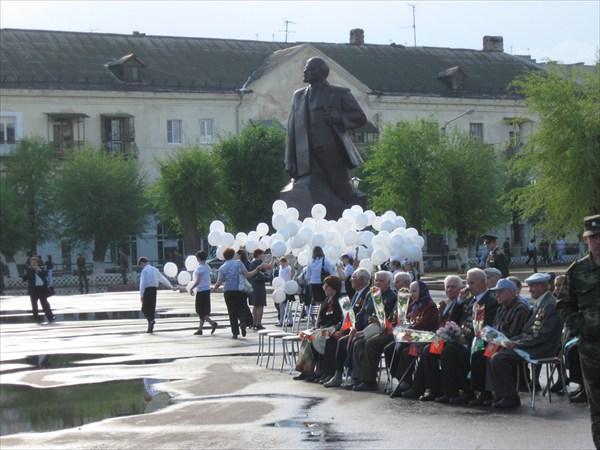 Ахтубинск. Площадь Ленина