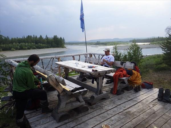 Слияние рек Войкар и Варчатывис