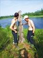 Идол на реке Варчатывис