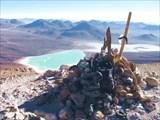 Вулкан Линканкабур, вершина