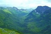 Долина верховий р. Кинзелюк. Центральный Саян