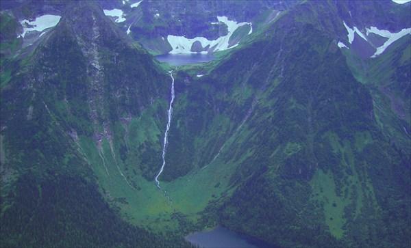 Кизелюкский водопад. Центральный Саян.