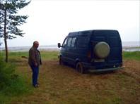 Белое море. Коварный берег.