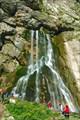 пещера-источник Гегский Водопад - вход справа от выхода воды