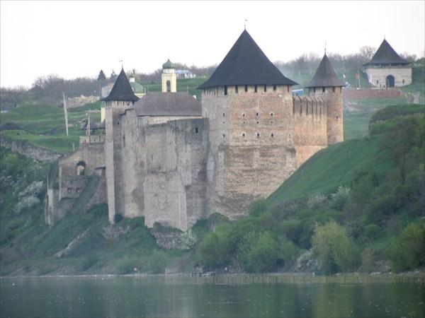крепость Хотин ( укр. Хотын)