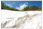 Снежники Дурмитора на высоте 2000 м