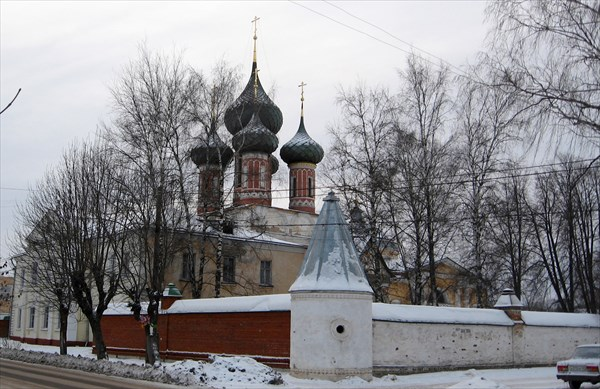 Храмовый комплекс Владимирской церкви в Нерехте