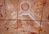 Фрагмент внутренней росписи - Троица.