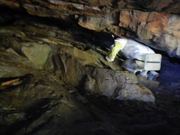 Вид найденной пещеры