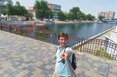Один из старейших пешеходных мостов через р. Кутум. Астрахань.