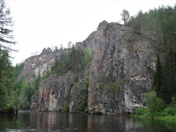 Красивые скалы.