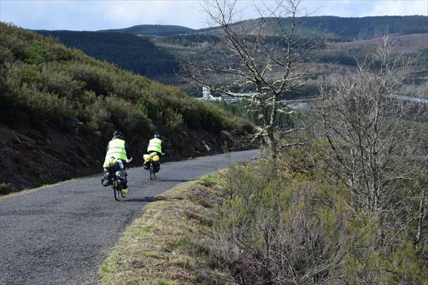 Испанские велотуристы