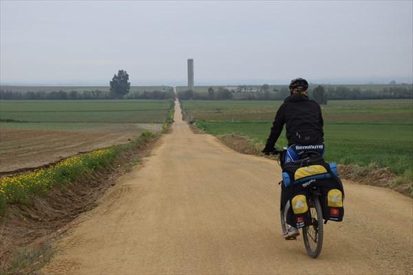 Дорога уходящая за горизонт