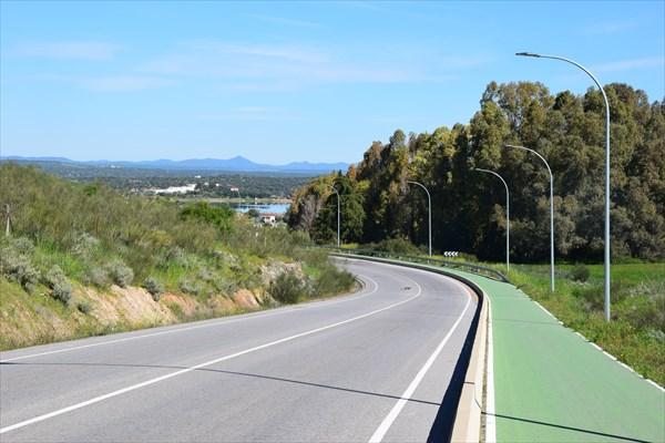 Ведущая из города велодорожка