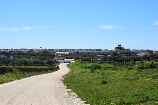 Проехали городок Касар-де-Касерес