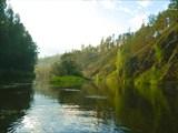 Недалеко от устья  Ваграна