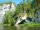 Скалы наСосьве