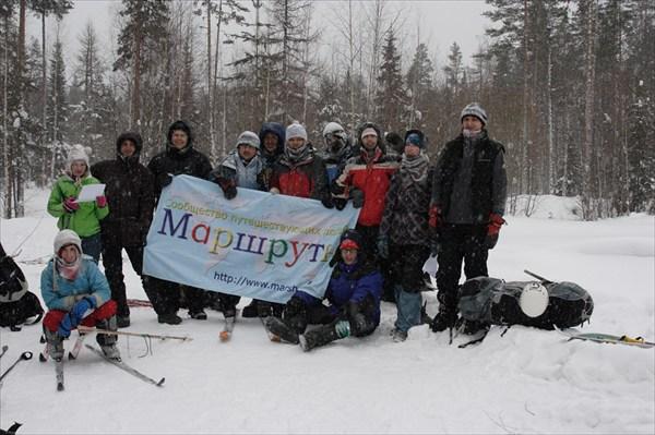 На лыжах к пещерам Русского Севера