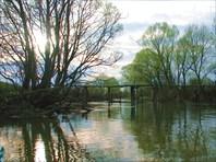 Сплав по рекам Усожа и Нерусса. Брянская область.