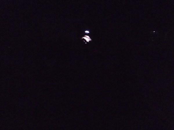 Скалы Пастухова ночью :)