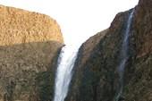 Водопад Менделеева на Хойси